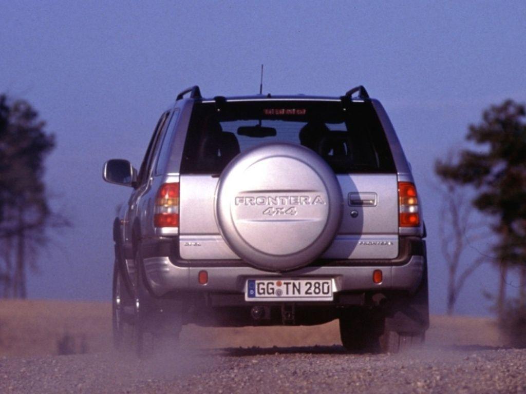 Снимки: Opel Frontera B